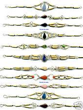 Ethnic Tribal Jewelry Lot 10 Bracelets Peru Bamboo Wood