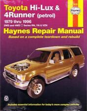 HAYNES REPAIR MANUAL: TOYOTA HILUX 4RUNNER PETROL 79-96