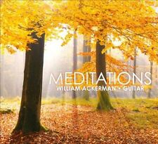 FREE US SHIP. on ANY 3+ CDs! ~Used,Very Good CD William Ackerman: Meditations