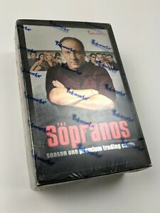 2005 Inkworks HBO The Sopranos Season 1 FACTORY SEALED Trading Cards Box