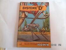 SYSTEME D N°120 12/1955 BEQUILLE POUR BICYCLETTE BATEAU DE PECHE A MOTEUR   J30