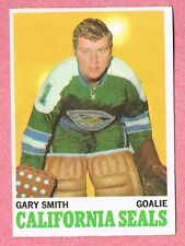 1970-71 70-71 O-PEE-CHEE OPC #69 Gary Smith SET BREAK