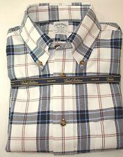 NEW Brooks Brothers REGENT Shirt Blue White Check Long Sleeve Non-Iron Sz M NWT