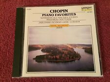 Chopin Piano Favorites Scherzos Laserlight CD Jablowski Fichman Gekic Luisada