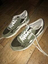 Reebok Classic Green Suede Size 8