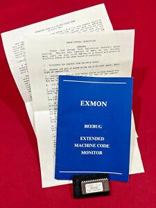 BEEBUG EXMON Extended Machine Code Monitor V1.0 ROM & Manual Acorn BBC B