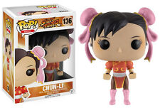 Funko POP! Street Fighter CHUN-LI RED OUTFIT #136 Exclusive Edition