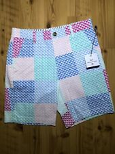 Nwt Vineyard Vines Target Patchwork Whale Shorts Size M 8/10 Boys Youth Kids