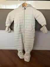 Baby Ski Snow Proof Snow Suit All-In-One Thick Polar Fleece Infant Snowsuit