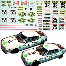 Citroen SM - Decals for 3 versions: #33 #25 #55 - 1:43 Decal Abziehbild