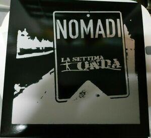 """NOMADI-LA SETTIMA ONDA- LP 33 GIRI - 12"""" PICTURE DISC ALTERNATIVE COVER"""