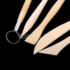 5pcs 6inch Sculpting Clay Tools Set Wax Carving Shapers   E0Xc