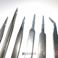 Kit 6 Pinces Brucelles de précision en métal. DIY, Modélisme, Arduino