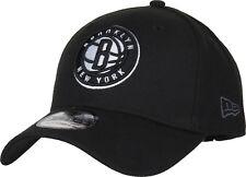 Era 9forty NBA Brooklyn Nets Adjustable Curved Peak Hat Strap Baseball Cap