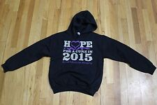 GILDAN HOPE FOR A CURE SPINAL MUSCULAR ATROPHY HOODIE SIZE SMALL NEW