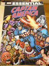 Marvel Essential - Captain America Vol 2 - Sept 2010 - Oop - F-Vf - Bv $25