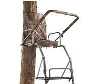 16' Foot Deluxe Ladder Tree Stand Deer Hunting Chair Padded 300 Lb Capacity NEW