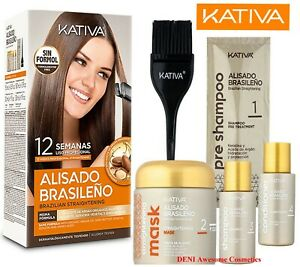 KATIVA Brazilian Straightening Keratin & Argan Oil