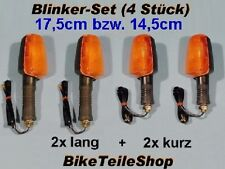 SET 4 Blinker f. Honda CB CBR XL CBX CX 250 350 400 500 550 600 650 750 900 1000