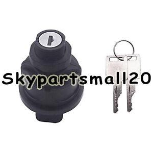 IGNITION SWITCH W KEYS For Bobcat S185 S205 S220 S250 S300 S330 S450 S510 S530
