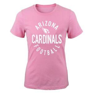 "Arizona Cardinals Outerstuff NFL Youth Pink ""PK Full Circle"" T-Shirt"
