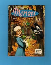 ► MENOU - N°? -  COLLECTION - ROSES BLANCHES - AREDIT 1972