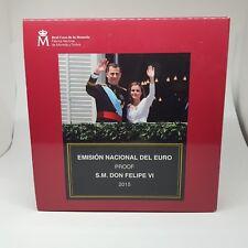 ESPAÑA ESTUCHE 2015 PROOF - INCLUYE CONM. ALTAMIRA PROOF -9 VALORES