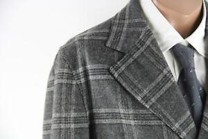 Luis Trenker grau-kariertes Tweed-Sakko Größe 50/M Top Zustand