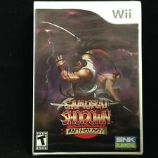 Samurai Shodown Anthology (Nintendo Wii) Brand New