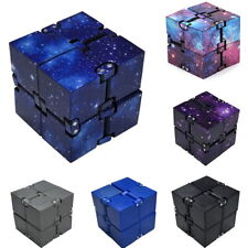 Infinity Cube EDC Stress Relief Fidget for Anti Anxiety Plastic ADHD Adults Kids