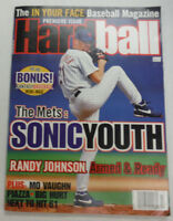 HardBall Magazine The Mets & Randy Johnson 1996 102914R1