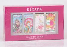 Escada - Collectors Edition - 4 x 4ml Miniaturen - Eau de Toilette - Taj Sunset