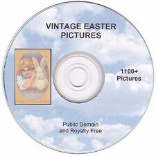 Vintage Easter Images!  - 1100+  images on CD