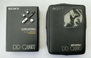 Sony WM-DD3, serviced! With original leather case. Very beautiful!