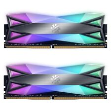 XPG SPECTRIX D60G 32GB (2x16GB) 288-Pin DDR4 SDRAM 3200 (PC4 25600) Rgb De Escritorio