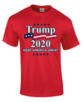 Donald Trump 2020 Make America Great Again RED Men Women Unisex T-shirt 3803