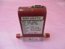 STEC SEC-4400M Mass Flow Controller, MFC, 100 SCCM, SiF4, 410797
