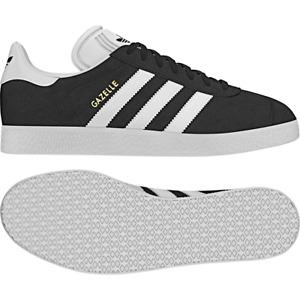 Adidas Gazelle Black/White/Gold
