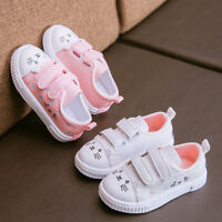 Toddler Kid Boy Girl Cat Sneakers Sports Running Shoes Baby Infant Slip On Shoes