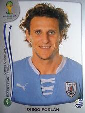PANINI 276 Diego Forlan URUGUAY fifa world cup 2014 Brasile