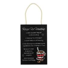 Recipe For A Friendship Hanging Wall Plaque 57128