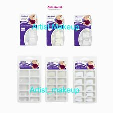 Mia Secret - Nail Tip Royal Square 100PC/500PC Acrylic Box- Clear/White/Natural