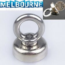 25x30mm Strong N52 Neodymium Eyebolt Circular Rings Magnet for 14KG Salvage
