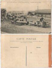 CPA postcard trains Garage des Machines Dépôt des Batignolles PARIS [1074 R]