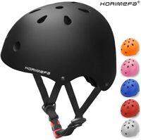 KORIMEFA Kids Bike Helmet 3-8 Years Toddler Skateboard Ventilation Adjustable