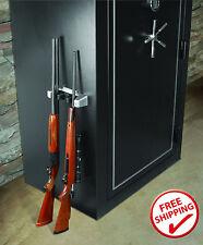Gun Safe Storage Magnetic Barrel Rest Rack Holder Organizer Accessories Shelf --
