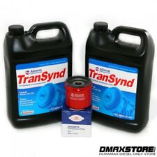 Transynd Full Synthetic Transmission Fluid Duramax Service PKG 2 GAL + Filter