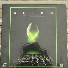 ALIEN Laserdisc 3-Disc Box Set 1090-85 CAV Ridley Scott H.R. Giger Tom Skerritt