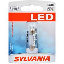 License Light Bulb-LED Blister Pack License Light Bulb Rear Sylvania 6418SL.BP