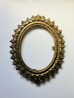 "5""x7"" BRONZE Picture Photo Frame Antique Rococo Leaf Acanthus Scroll Regency KPM"